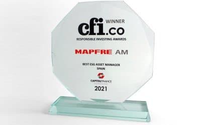 MAPFRE AM, reconocida como la mejor gestora de activos ASG de España según Capital Finance International